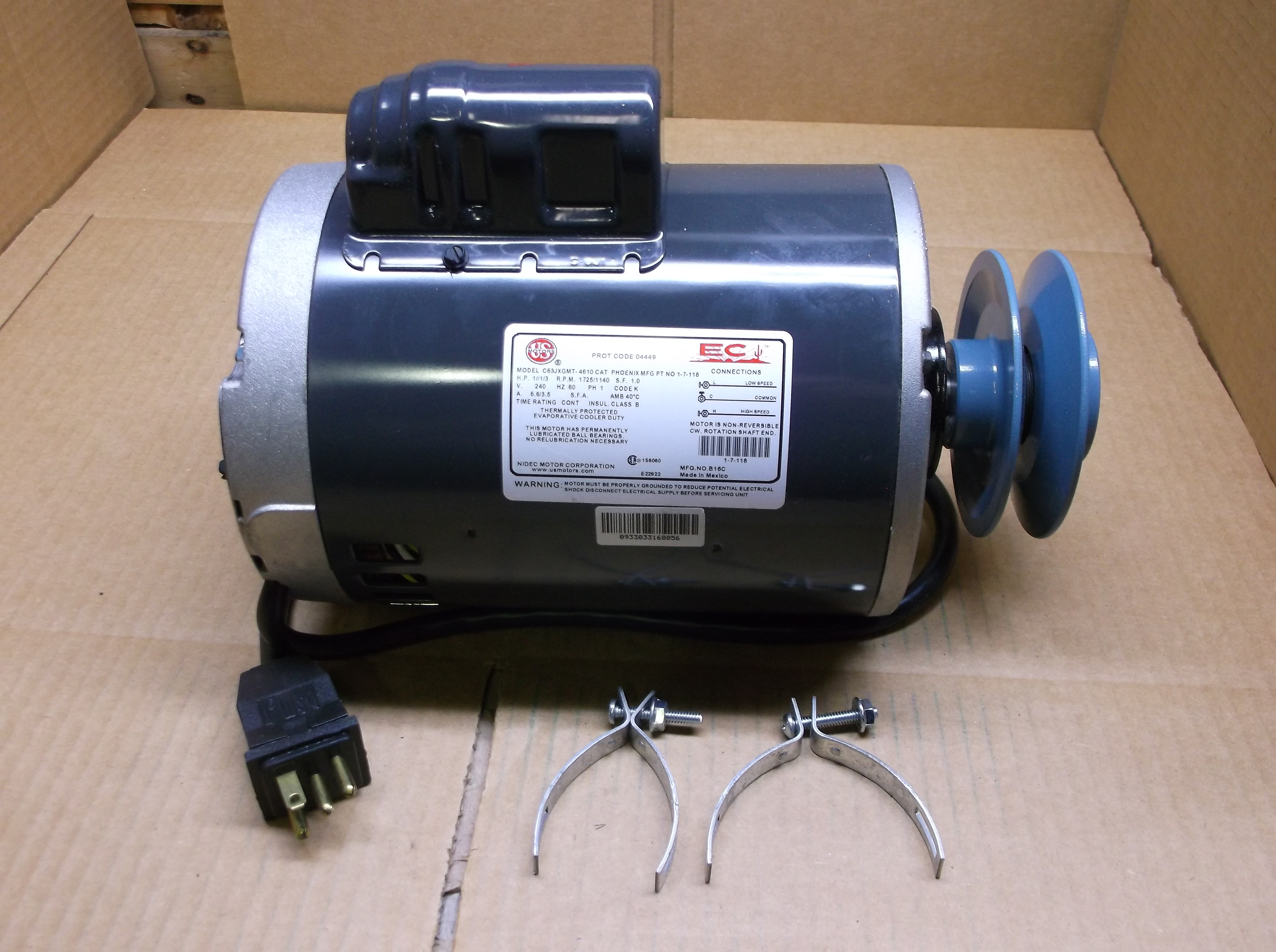 Evaporative Motor Blower Motor : Surplus city liquidators